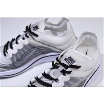 4011021eef5f 2018 Nikelab Zoom Fly SP White Black-Summit White Men s and Women s Size  AA3172-101