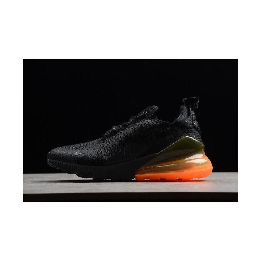 nike air max 270 black tonal orange