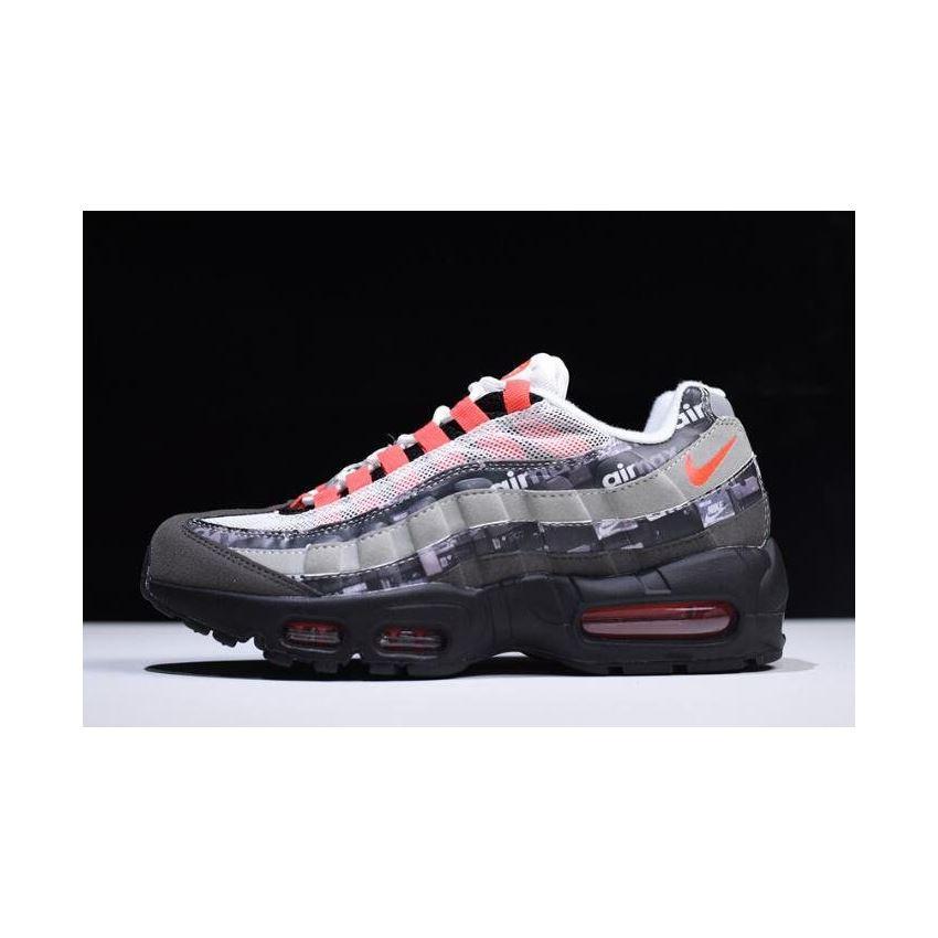 hot sale online 96136 432ba Atmos x Nike Air Max 95 We Love Nike Black Safety Orange-Medium Ash-Dark  Ash AQ0925-002