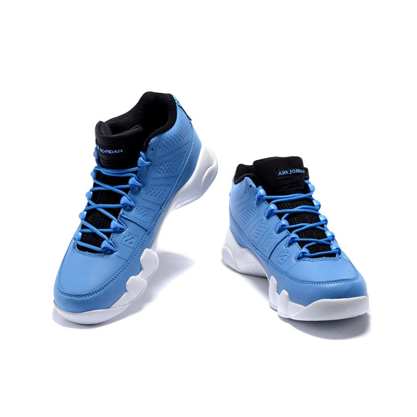 outlet store cb27b 24646 Men s Air Jordan 9 Retro Low Pantone University Blue White-Black For Sale