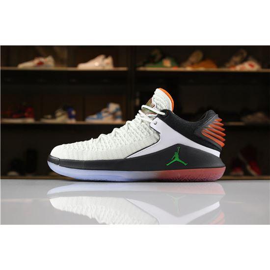 ecb2d722cdfae0 New Air Jordan 32 XXXII Low Gatorade Like Mike Summit White Black-Team  Orange AA1256-100